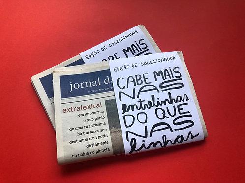 EDIÇÃO DE COLECIONADOR JORNAL DAS MIUDEZAS