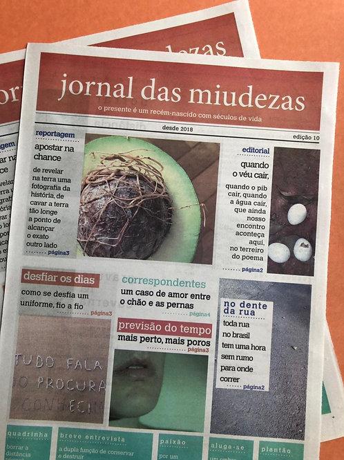 JORNAL DAS MIUDEZAS - EDIÇÃO 10