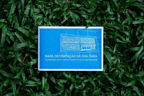 MAPA DE VISITAÇÃO DA SUA CASA