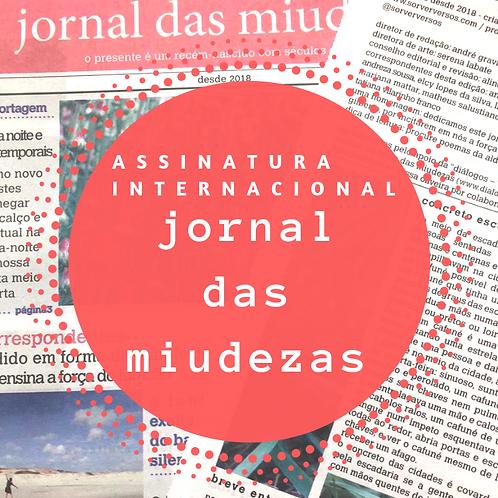 ASSINATURA INTERNACIONAL 2020