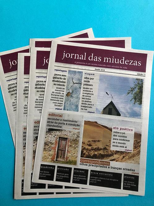 JORNAL DAS MIUDEZAS - EDIÇÃO 11