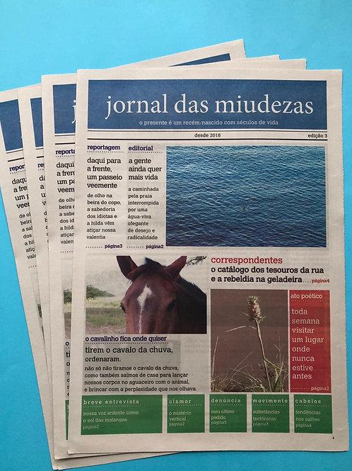 JORNAL DAS MIUDEZAS - EDIÇÃO 3