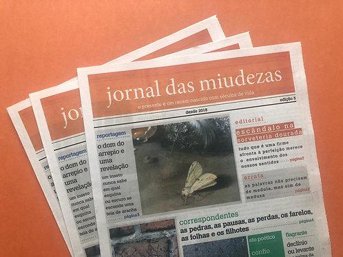 JORNAL DAS MIUDEZAS - EDIÇÃO 5
