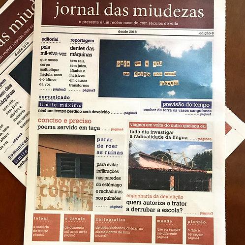 JORNAL DAS MIUDEZAS - EDIÇÃO 8