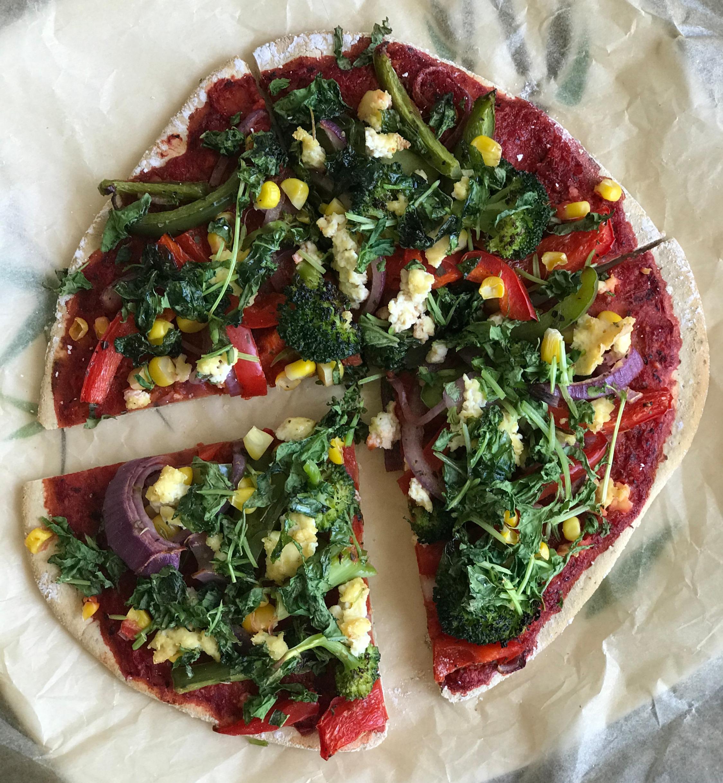 GLUTEN-FREE PIZZA BREAD