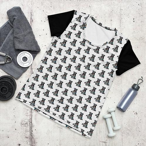 Camiseta Mujer Impresión All-Over