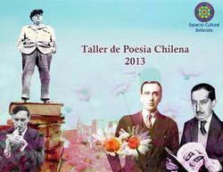 Afiche Taller de Poesía Chilena
