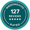 Wedding Wire Rated 127 Reviews