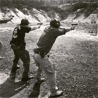 Anoroc PDG getting sum essential realistic Combat Focus Shooting during the 2014 PDN Tour with _Greenlinetactical _The_jrv _pincusrob