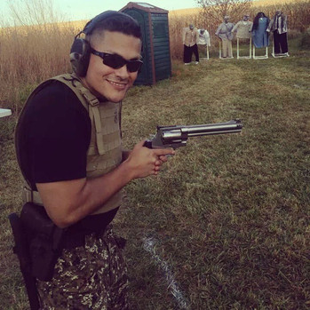Big gun=big fun! Come and get trained with us. Defensive shooting with a zombie apocalypse twist.jpg