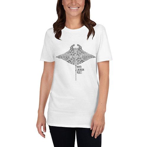 Aztec Unisex T-Shirt - White/Grey