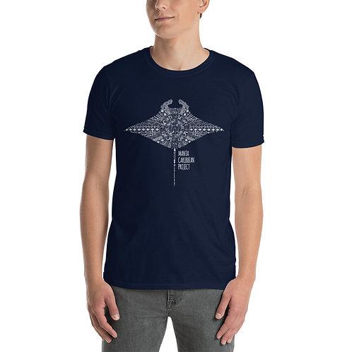 Aztec Unisex T-Shirt- Black/Navy