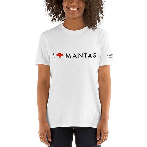 Unisex I Love Mantas Tshirt