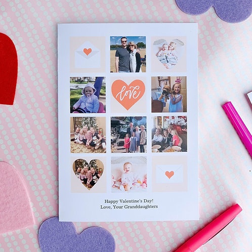 Custom Valentine's Cards