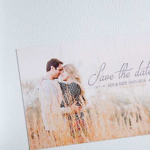 Save the Date Post Card Invitations