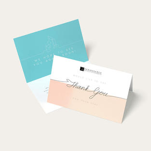 Branded Thank You Cards