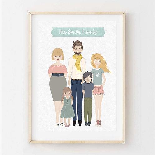 Custom Family Photos