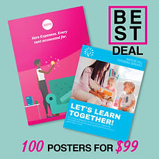 100 Posters for ONLY $99