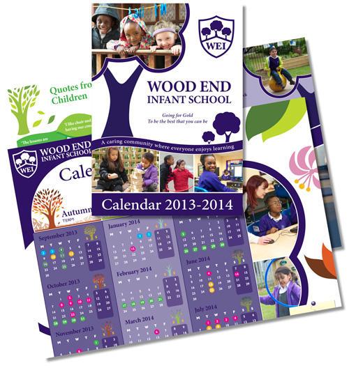Saddle Stitch Calendars