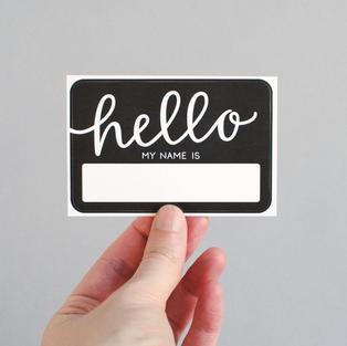 Custom Name Tags