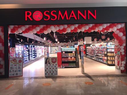 Rossmann Opening in Sankopark mall by HM