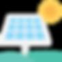 solar panels drone thermal camera