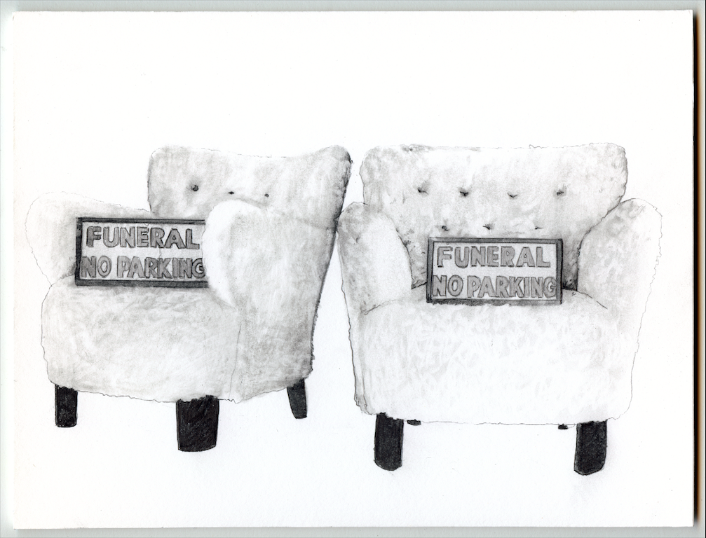 Fuzzy Armchairs with Funeral [...]