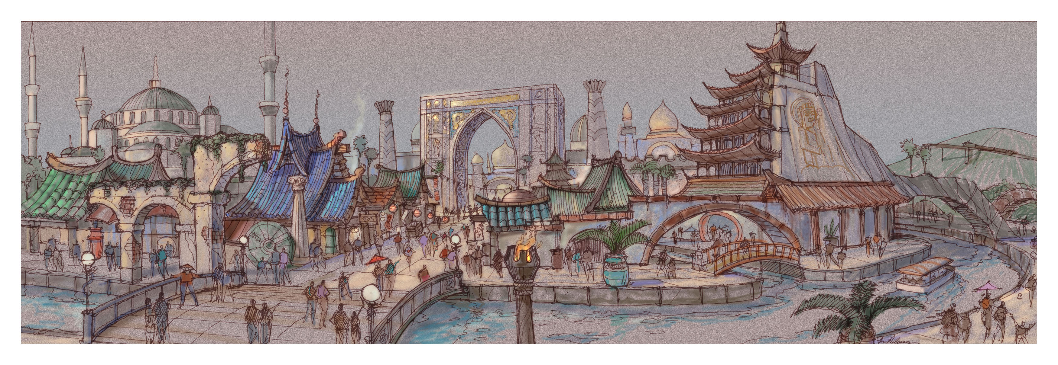 Silk Road Land, Adventure Kingdom