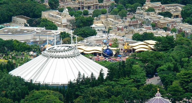 Tomorrowland, Hong Kong Disneyland