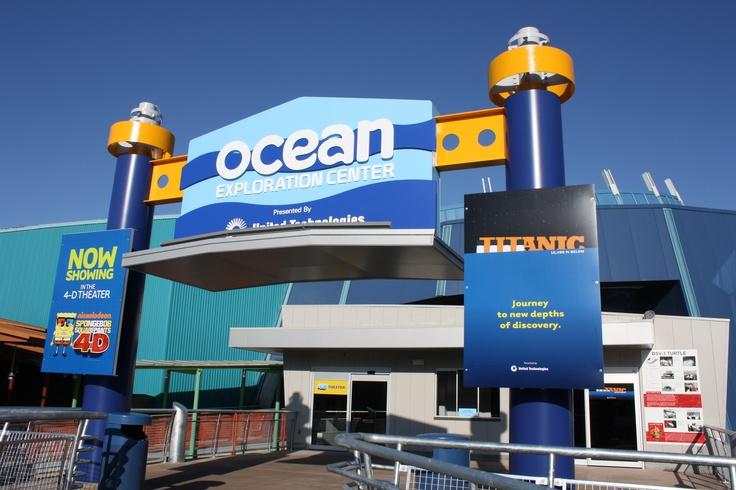 Ocean Exploration Center, Mystic, CT