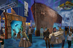 Titanic 12,450 Ft. Below Exhibit