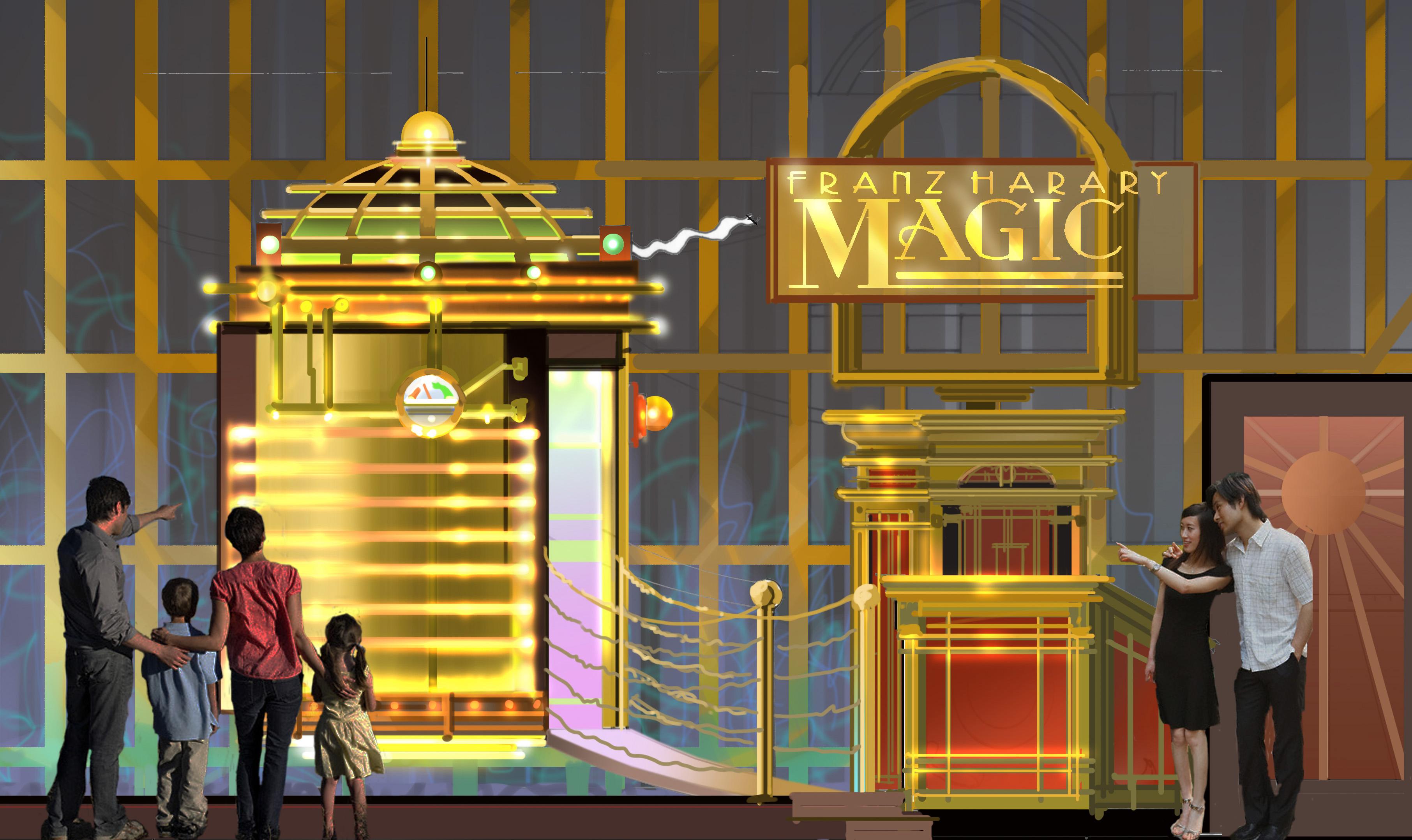 Magic Club Entry, Studio City Macau