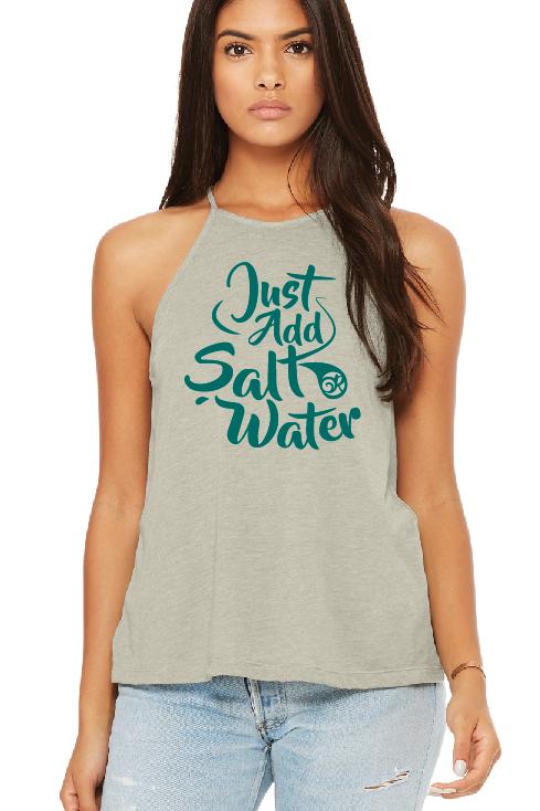 Just Add Salt Water Female Tank Top
