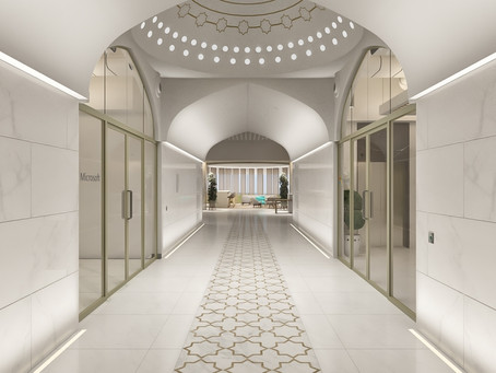 Microsoft's Taj Mahal Look alike Hub in Noida