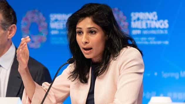 Gita Gopinath, chief economist with the International Monetary Fund (IMF)