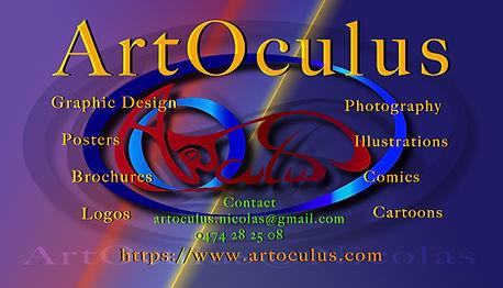 Businesscard ArtOculus