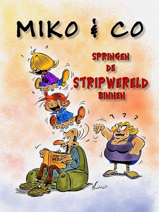 Voorstelling Miko & Co voor Stripweb (aa