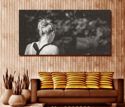 'Girl' On Canvas