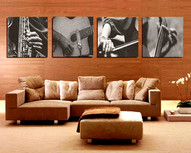 'Musicians' On Canvas