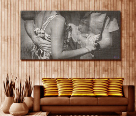 'Dancing Couple' On Canvas