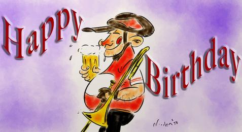 Karikatuur 60 jaar Piet