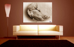 'Baby' On Canvas