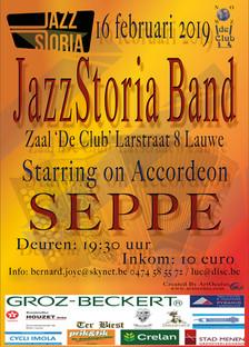 JazzStoria poster Februari 2019