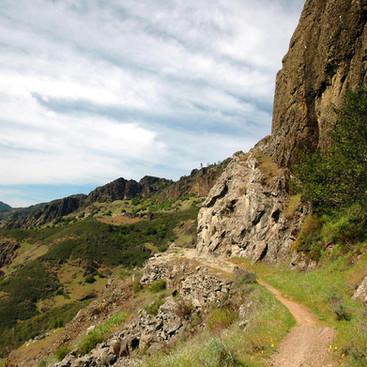 Hiking above Calistoga