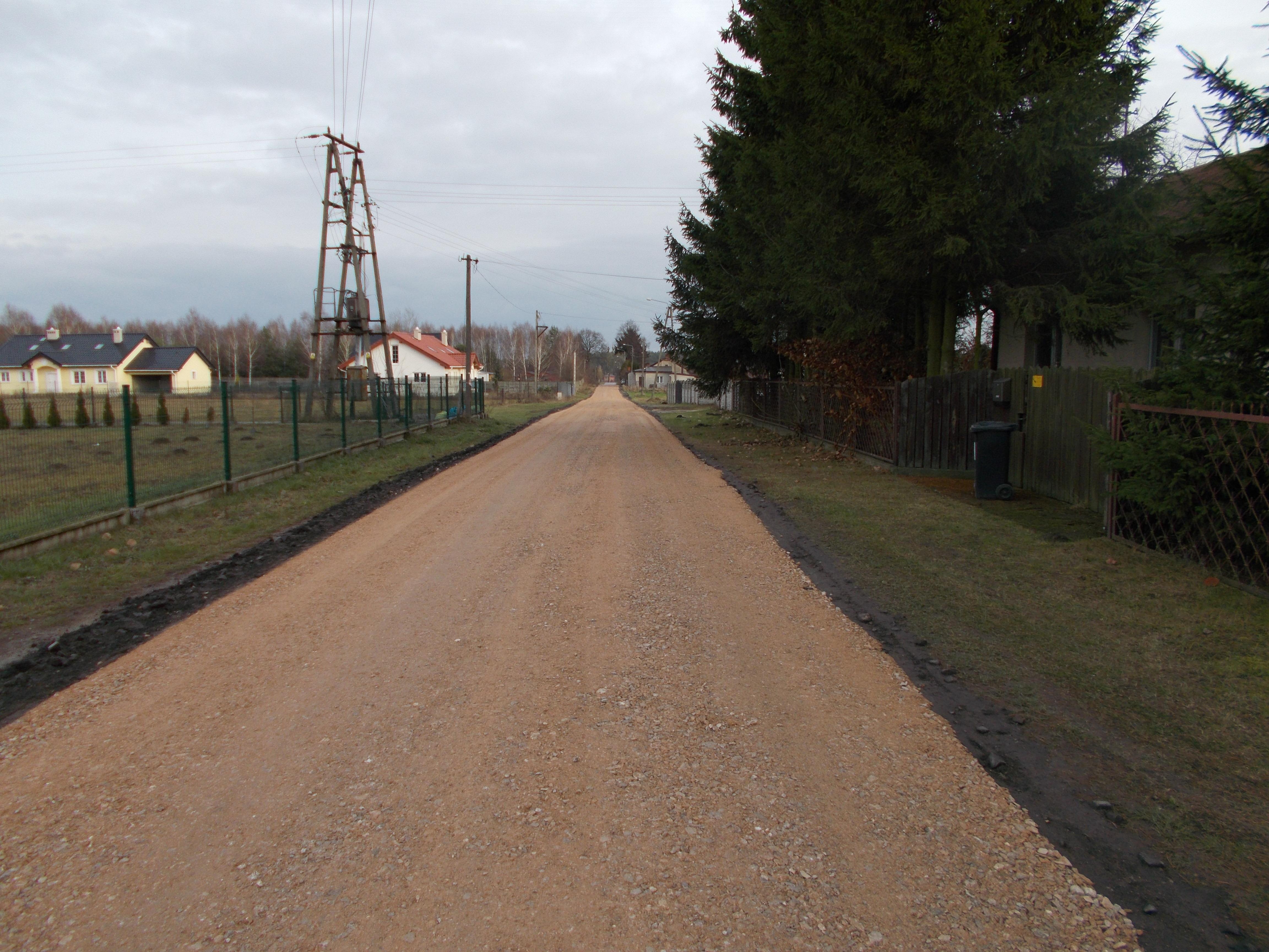 Wykonane remonty dróg w gminie