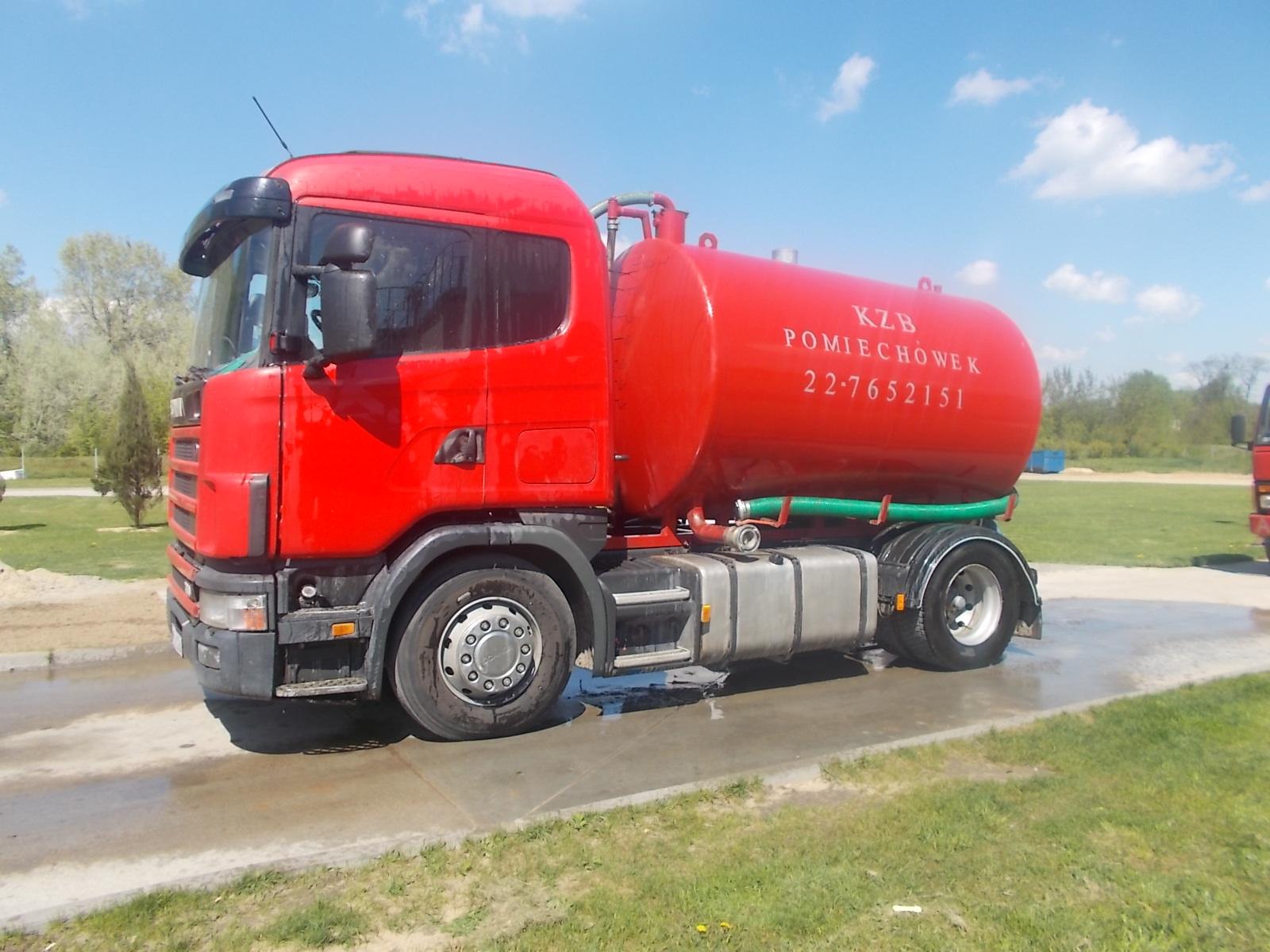 Wóz asenizacyjny Scania
