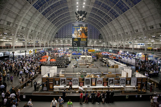 Olympia London is about to become German