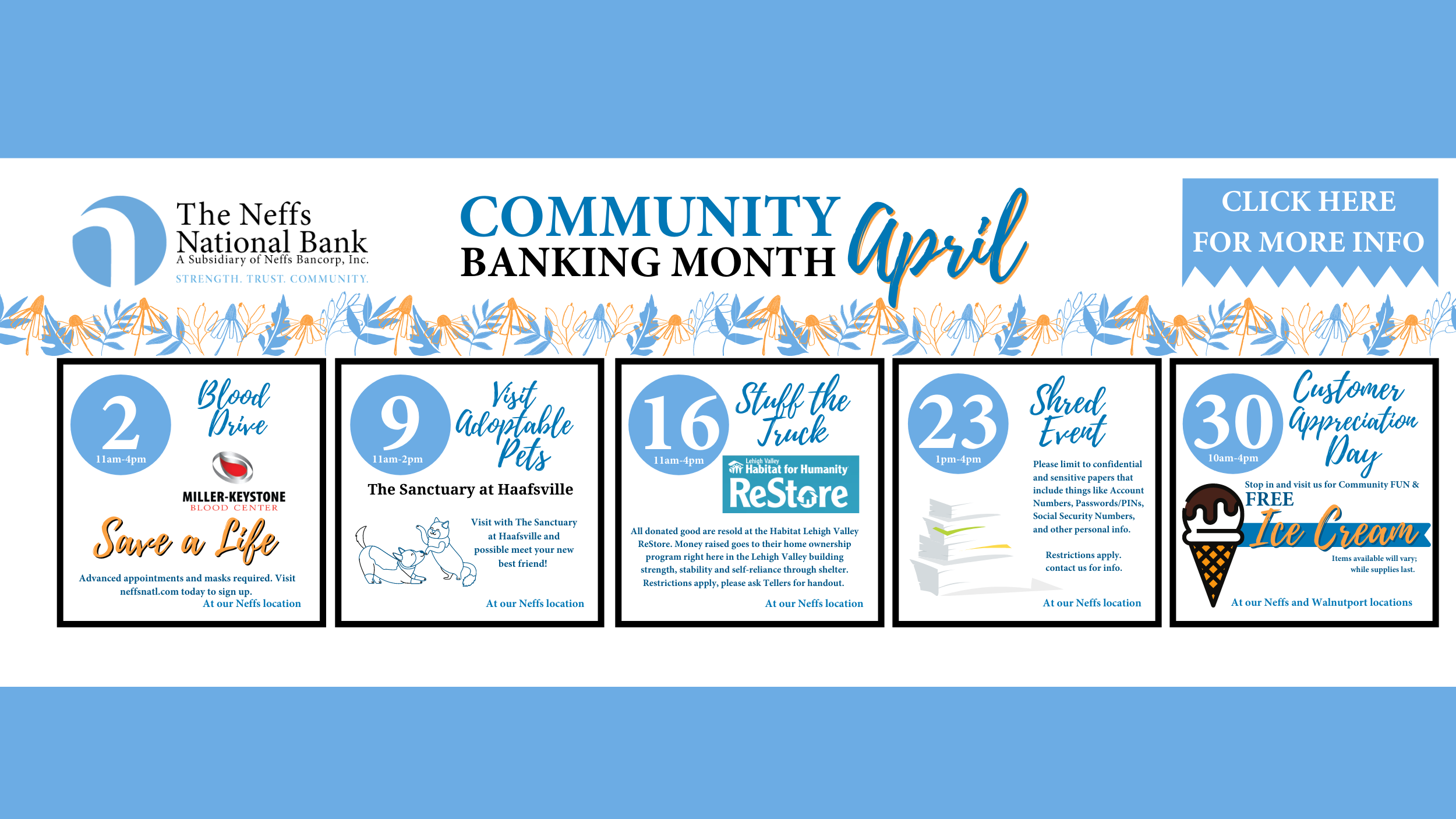 Community Banking Month!