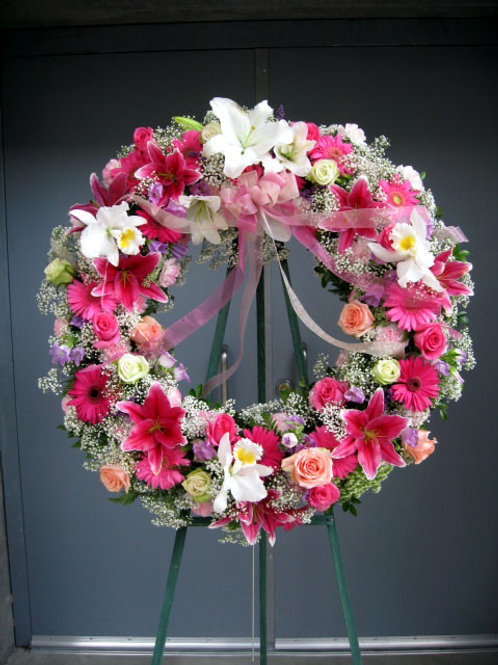 Open Wreath 1