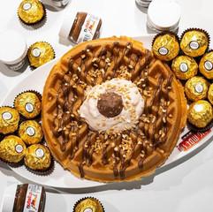 Ferrero Rocher Waffle